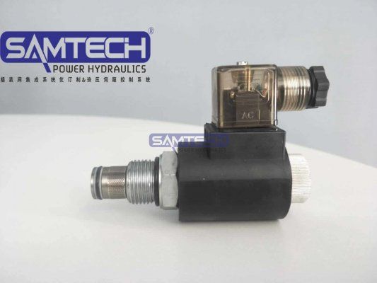 双向止回阀SV10-2/2NCPL亚博体育app下载链接螺纹电磁阀 电磁插装式